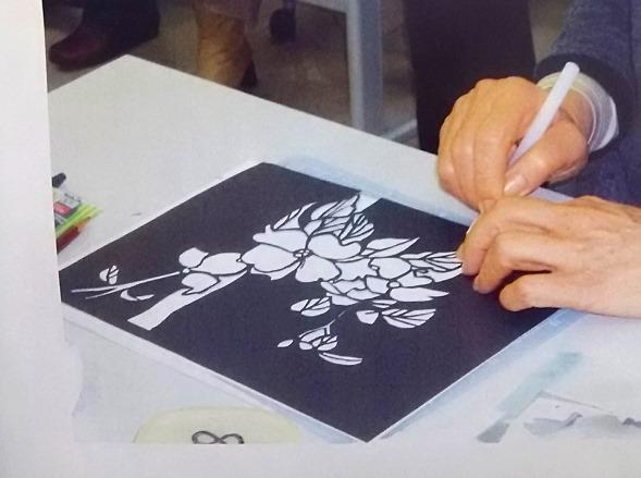 アート講座「切り絵教室」《連続講座・全5回》