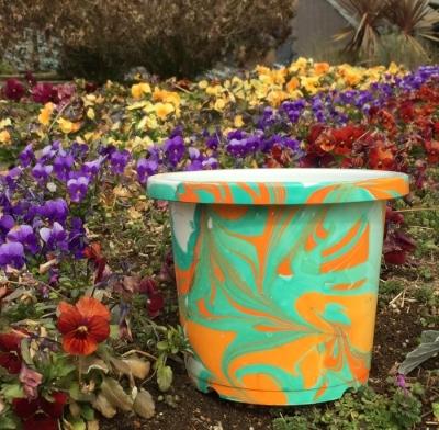アートで美術館シリーズ①「世界に一つだけの植木鉢をつくろう」