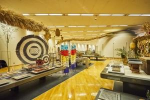 川崎市市民ミュージアム 博物館常設展示室内観