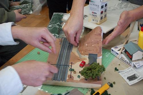 鉄道模型ジオラマを作ろう!